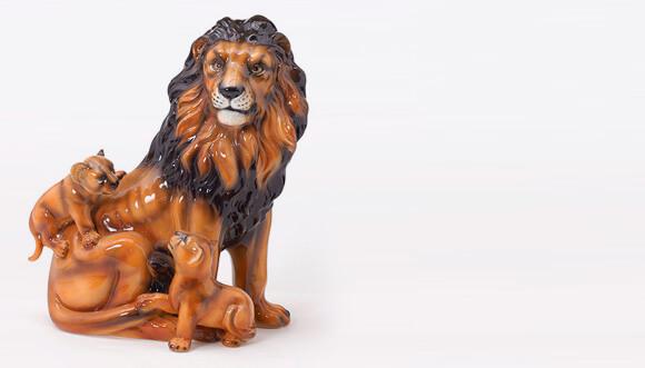 Ceramiche boxer produzione e vendita animali in ceramica