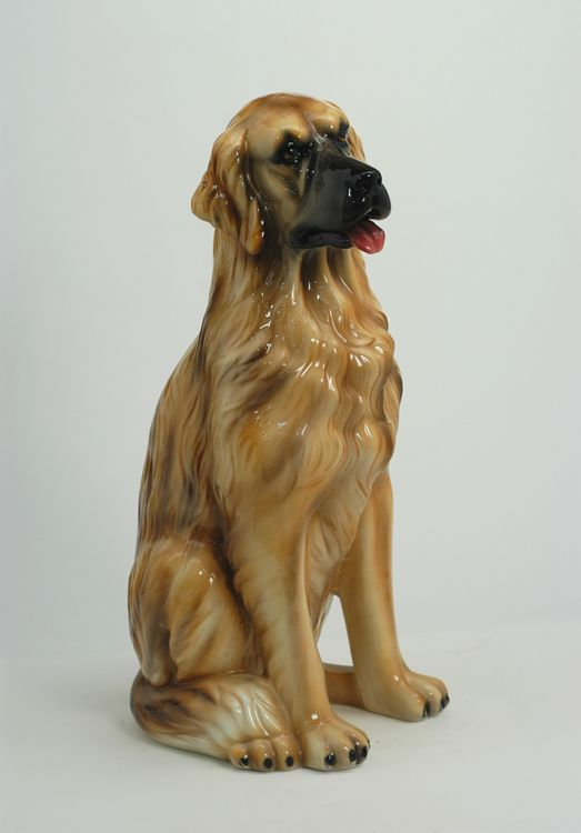 Cane golden retriever in ceramica - Ceramiche Boxer